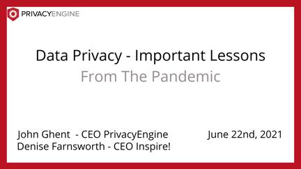Data Privacy COVID19